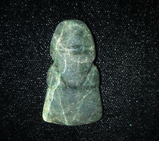 Pre-Columbian Harpy Eagle Pendant, Nicoya, Calcified Jade, Authentic