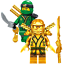 Lego-Ninjago-Minifiguren-Sets-Zane-Cole-Nya-Kai-Jay-GOLDEN-DRAGON-LLOYD-Minifigs Indexbild 13