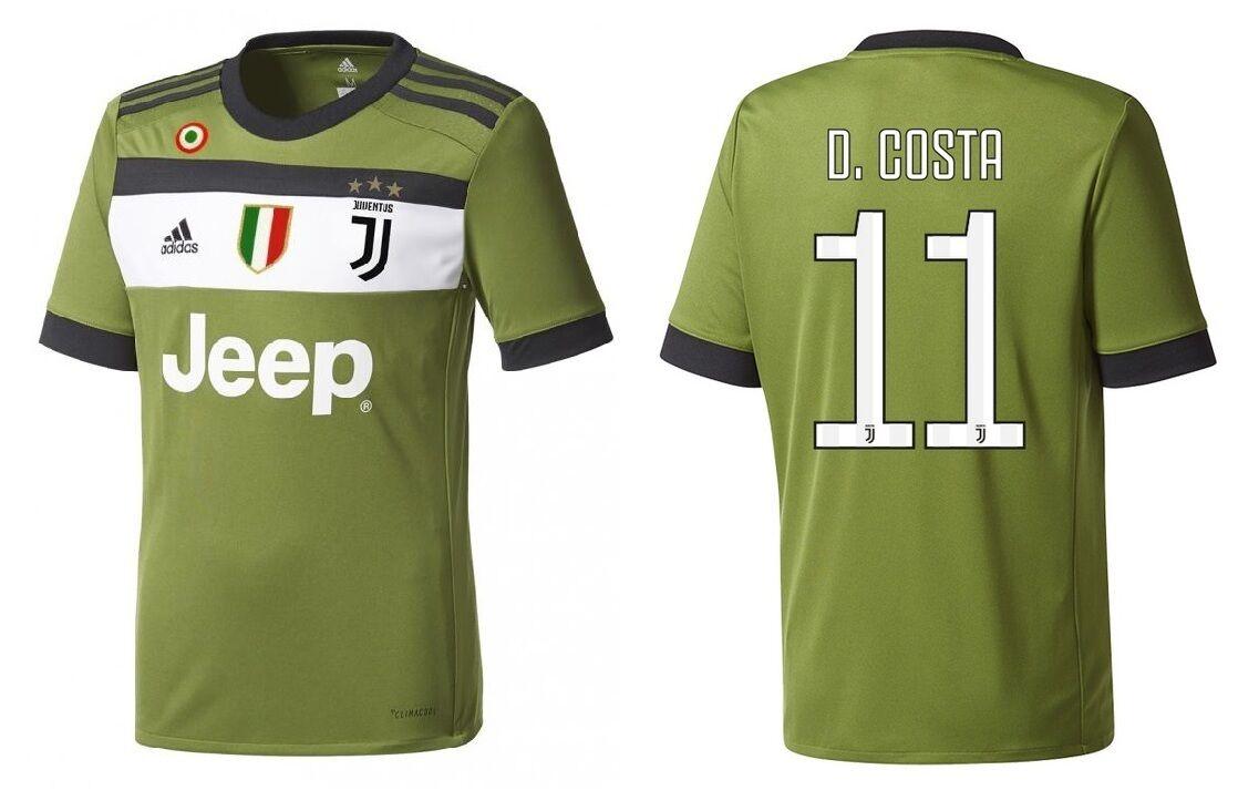 Trikot Juventus Turin 2017-2018 Third Coppa/Scudetto - D. Costa 11
