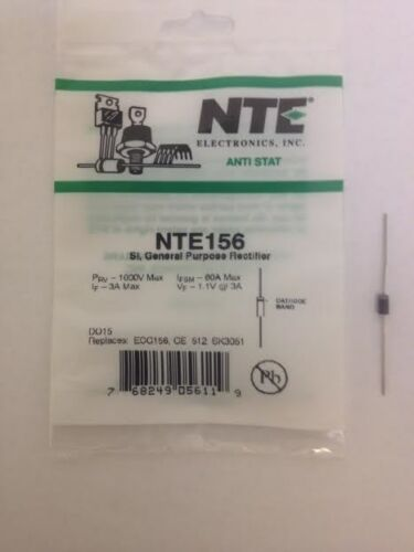 1000 PRV NTE NTE156 R-Si 3A