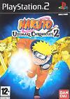 Naruto: Uzumaki Chronicles 2 (Sony PlayStation 2, 2008) - European Version