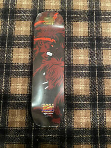 Nsurgo Streetfighter Akuma Skate Deck Skateboard New RARE