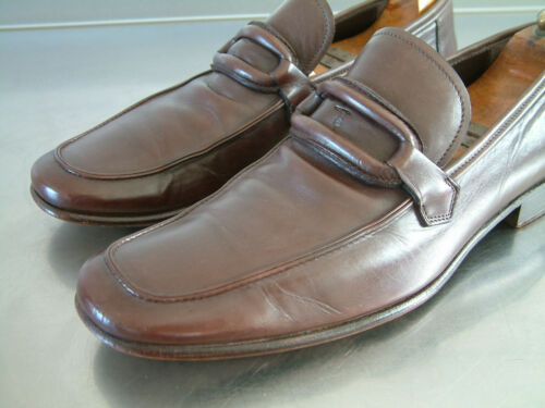 Trussardi 7 loafers luxury grande Shoes Footwear £ 350 uk condizione Mens wrqHUBnIr
