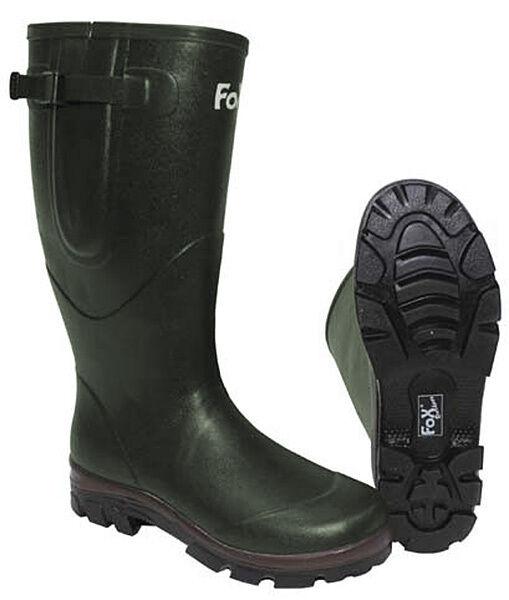 MFH Fox Outdoor Stivali di gomma con alimentazione in neoprene gomma di Stivali 38-47
