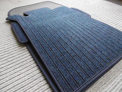 Lengenfelder Rips Fußmatten für Mercedes Benz W203 S203 C-Klasse ANTHRAZIT NEU