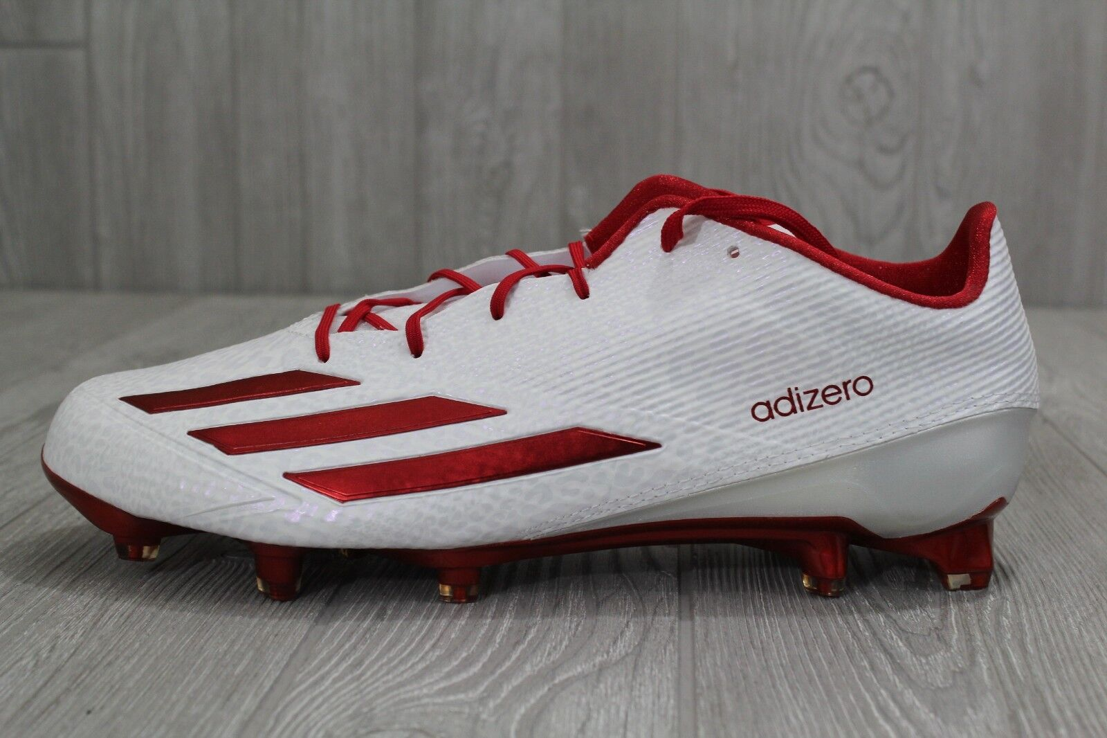 25 New Adidas Men's Adizero 5 Star 5.0 Low Football Cleats Shoes Q16060 12-13 Casual wild