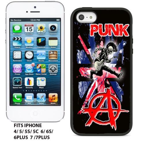 PUNK ROCK  SKINHEAD  OI   RETRO  GEL TPU IPHONE CASE COVER
