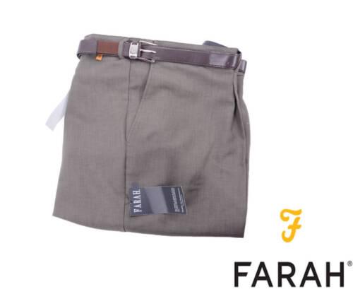 da 263203 Pantaloni dritta Flexi W64 anteriore Vita uomo Dko Farah piatta W60 5HZYZAxq