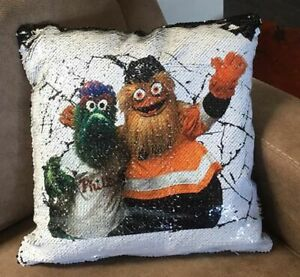 Terrific Details About Gritty And Phanatic Sequin 16 Pillow Mermaid Magic Case With Foam Insert Forskolin Free Trial Chair Design Images Forskolin Free Trialorg