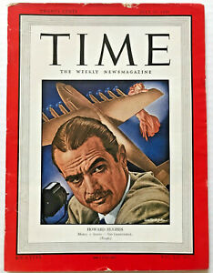 Vintage-1948-Howard-Hughes-TIME-MAGAZINE-Photo-Cover-Feature-Spruce-Goose