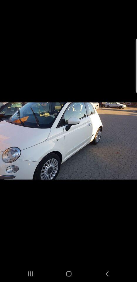 Fiat 500, 1,2 Lounge, Benzin
