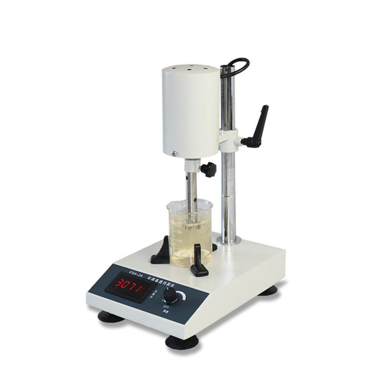 FSH-2A 110V High Speed Dispersion Homogenizer Lab Mixer Laboratory Dispenser 10~1000ml 185W 22000rpm Without Glass Cup US Stock