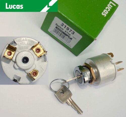 Lucas 31973, 47sa Zündschalter für Mini, Mottis Minor Kobold, Midget, 13h337