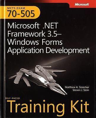 MCTS Self-Paced Training Kit (Exam 70-505): Microsoft® .NET Framework-ExLibrary