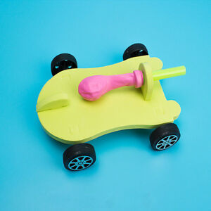Funny-Kids-Gift-DIY-Balloon-Reaction-Car-Educational-Toy-Science-Experiment-Toys