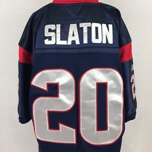 453303451 Reebok Steve Slaton Houston Texans Jersey Size 52 Blue Home NFL ...