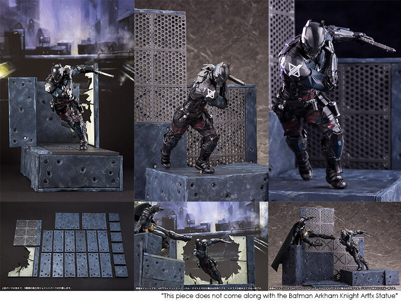 Kotobukiya dc comics arkham ritter artfx + statue