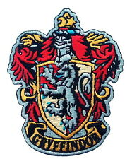 Harry Potter House of GRYFFINDOR  Crest Applique 2.75 inch Patch Iron on