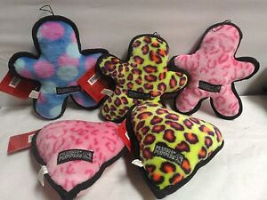 Plush-Puppies-Tuff-Grunts-Dog-Toys-CHOOSE-YOUR-COLOR