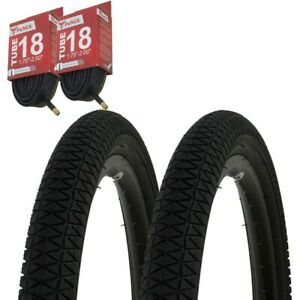 """1PAIR Bicycle Bike Tires /& Tubes 20/"""" x 1.95/"""" Red//Red  Side Wall P-1171"""