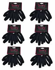 24 PCS Black Elastic Bands Ponytail Rubber Bands 3 Unit 8pcs x 3