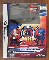 Nintendo Ds Game Kung Zhu Bundle Set Free Exclusive Tull Samurai Hamster Pet