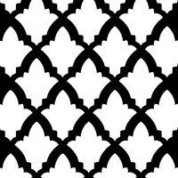 Turkish Tulip Stencil Design - Craft Template - By Cutting Edge Stencils