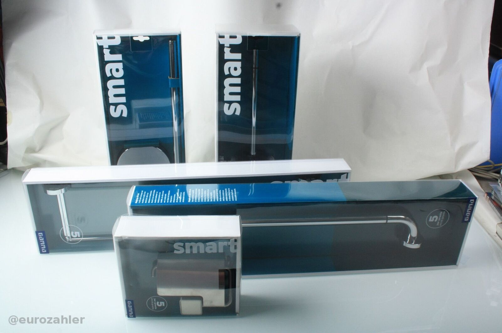 Gamma Smart Konvolut Bad Set 5er Set Neu OVP