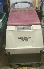 Minuteman 200 Floor Scrubber Working Good Batteries Charger