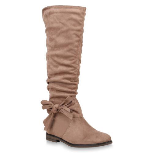 Klassische Damen Stiefel Schuhe Boots 819816 Trendy Neu