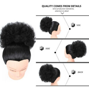 Synthetic-Drawstring-haute-Puff-Ponytail-Extension-Afro-Kinky-cheveux-boucles