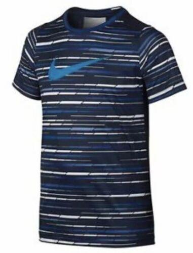 NWT Boy/'s Nike Dri-Fit Legacy Striped Tee Shirt Size Small