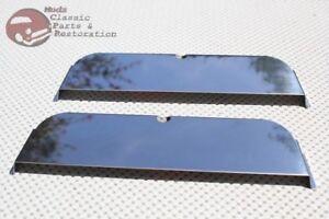 Custom-Japanese-Import-Sport-7x6-Headlight-Lamp-Bulb-Half-Moon-Shield-Cover-Trim