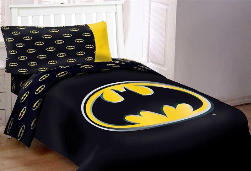 Detective Comics Comics Batman Enfants Couette Ensemble De Lit 4pcs Twin Taille