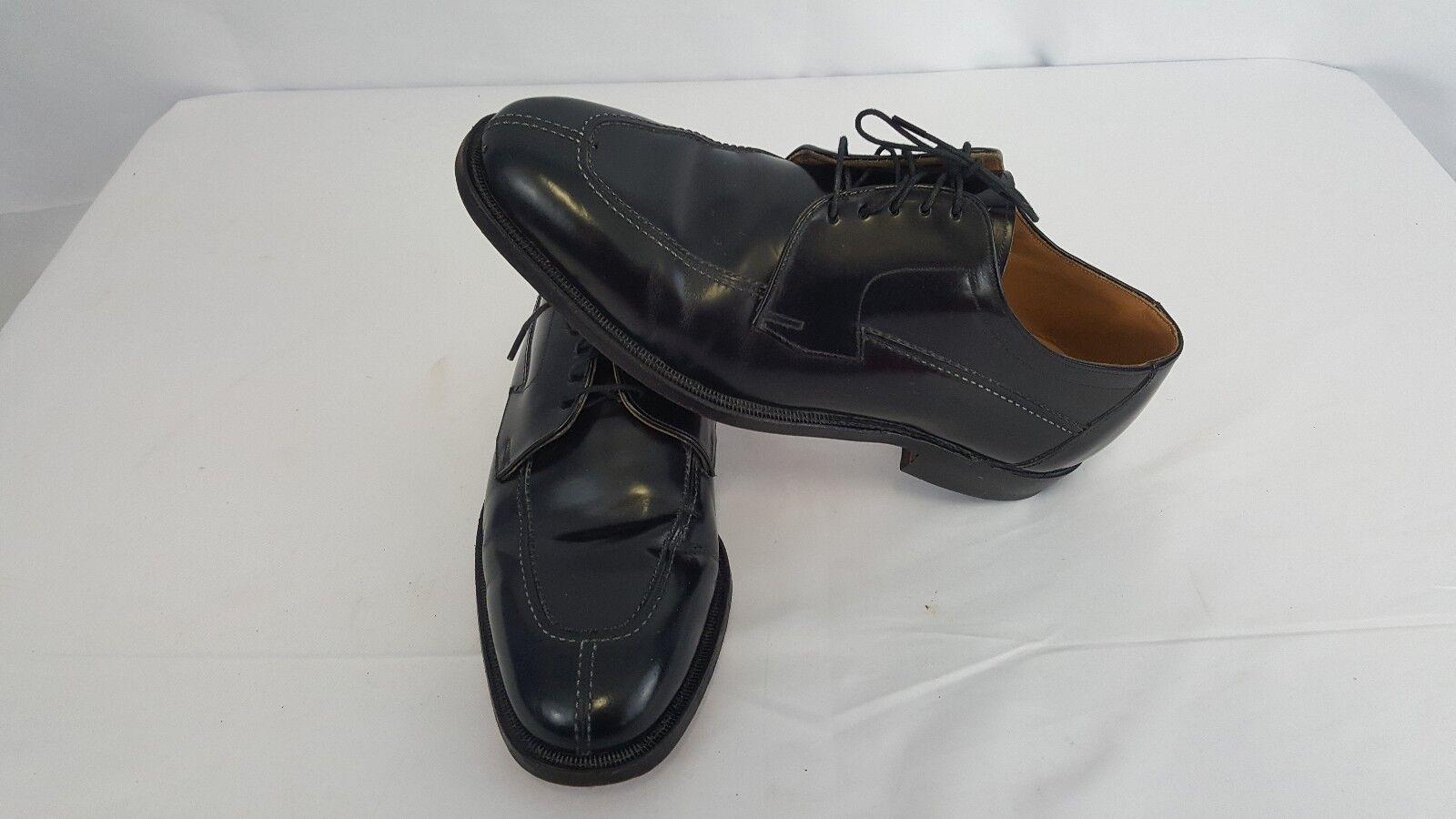 Johnston & Murphy Limited black split toe oxfords Men's dress formal shoes 10D B