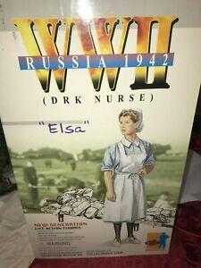 Dragon 12 Action Figure WWII Russia 1942 Elsa DRK Nurse