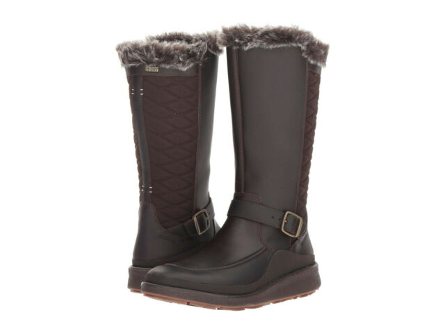 1fb535e086 Merrell Womens Tremblant Ezra Tall Waterproof Ice+ Winter Mid Calf Snow  Boots