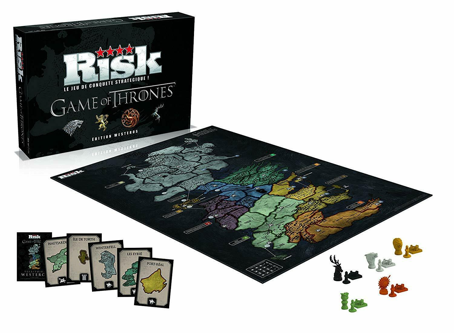 NEUF - Risk Game of Thrones - Edition Westeros