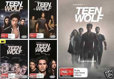 Teen Wolf : Complete Seasons  1-4 = NEW R4 DVD