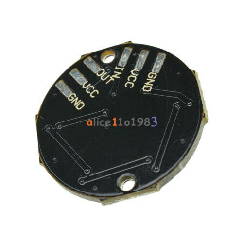 10PCS 7-Bit WS2812 5050 RGB LED Ring Round Decoration Bulb Arduino