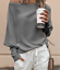 New-Womens-Off-Shoulder-Baggy-Ladies-Tops-Loose-Blouse-Oversized-Sweater-Jumper thumbnail 11