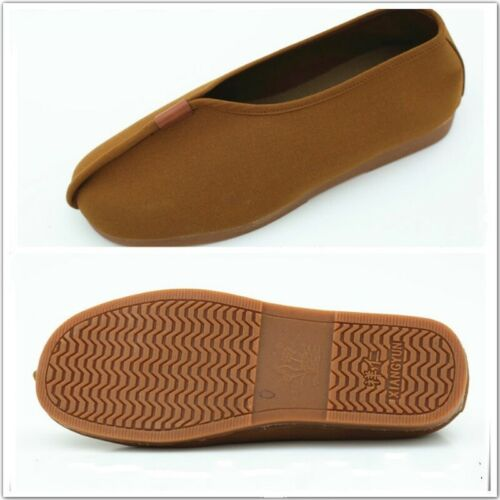 Chinese Monk Shoes Buddhist Kung Fu Sneakers Martial Arts Shaolin Loafers Retro