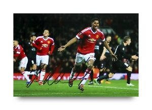 Marcus-Rashford-Signed-6x4-Photo-Manchester-United-Autograph-Memorabilia-COA