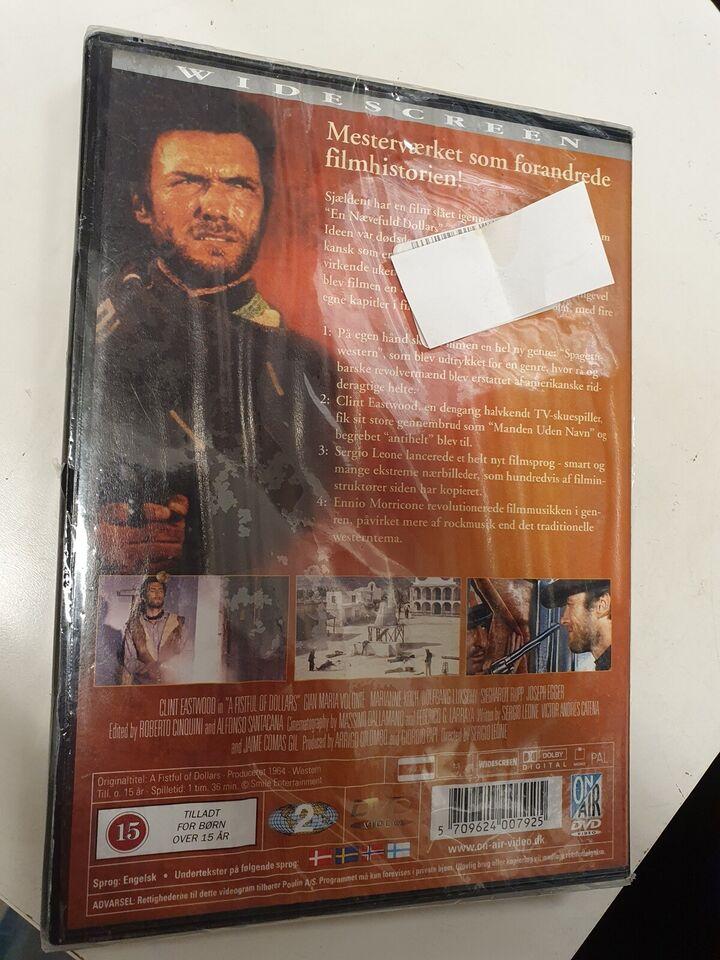 En nævefuld dollars, DVD, western