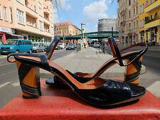 ADRIANO FOSI Damen Sandale Pumps Sandaletten Gr 41 UK 7,5  US 9,5 True VINTAGE