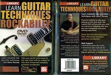 Lick Library Learn Guitar Techniques Rockabilly NEW DVD