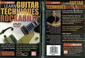 lick library learn guitar techniques rockabilly new dvd ebay. Black Bedroom Furniture Sets. Home Design Ideas