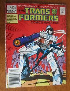 Transformers Comic Magazine Digest #2 6.0 FN (1987)