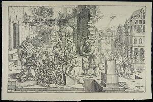 Hirten Bilder Weihnachten.Details Zu Anbetung Der Hirten Weihnachten 1530 Altmeister Holzschnitt Adoration I35