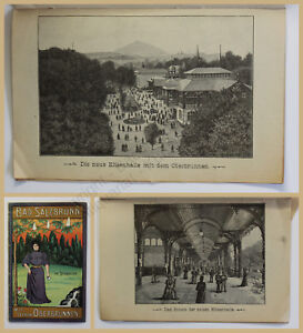 Prospekt-Bad-Salzbrunn-mit-seinem-Oberbrunnen-um-1900-Szczawno-Zdroj-Schlesien